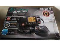 Cobra Marine MR F80B Marine VHF Transceiver Cass-D DSC Submersible Black Radio