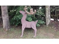 Large Wooden Christmas Reindeer Xmas Display Decoration Events Prop Garden Shop Party Entertainment