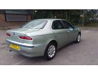 ALFA ROMEO 156 1.8 T. SPARTAK PETROL MANUAL IN VERY GOOD CONDITION. MOT TILL APRIL 2018. HPI CLEAR