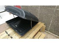 Car roof box, approx 120cm x100cm x 40cm ( 480 L )