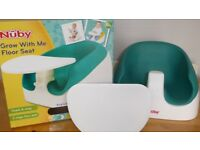 Nuby Grow with me floor seat six months plus.