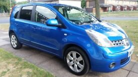 Nissan NOTE, Automatic