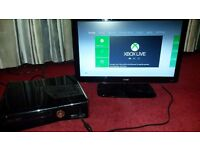 XBox 360 250GB, HD Ready TV and 20 Games Bundle