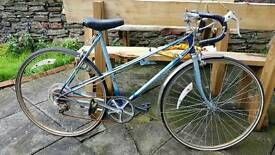 Vintage Ladies Blue Raleigh Racer (make me an offer)