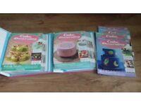 DeAgostini cake decorating books 1-33