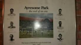 Middlesbrough football club Ayresome park print