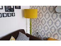 Habitat Vintage Retro Green Floor Lamp. 158cm x 54cm - £30 ono