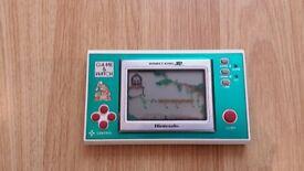 Original Nintendo Donkey Kong JR Game & Watch Fully Working 80s Handheld