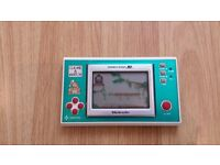Original Nintendo Donkey Kong JR Game & Watch Fully Working 80s Handheld