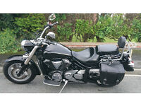 Yamaha xvs 1300 midnightstar very good contition only 3400 miles full year mot