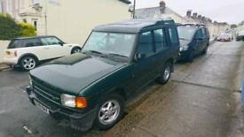 Land Rover Discovery, petrol V8 with LPG conversion.