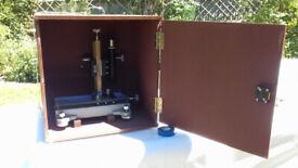Travelling Microscope in beautiful bespoke wooden case