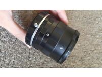 Macro Extension Tube 3 Ring Set (used for Canon DSLR)
