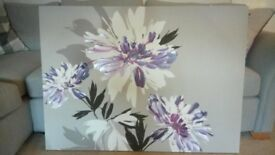 Wall art floral canvas next