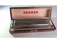 Hohner Nr.280 64 Chromatica Harmonica - Vintage With box.