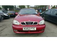 Daewoo Lanos SX Red 1.6 3 Door