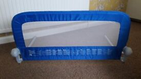 Mothercare bed guard - used only a few times