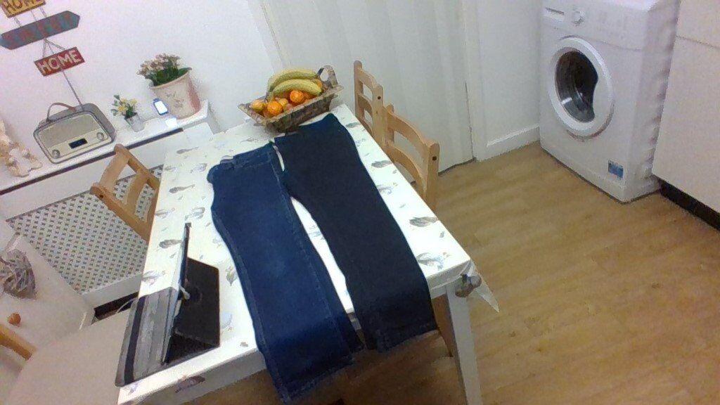 ladies size 12 straight leg jeans
