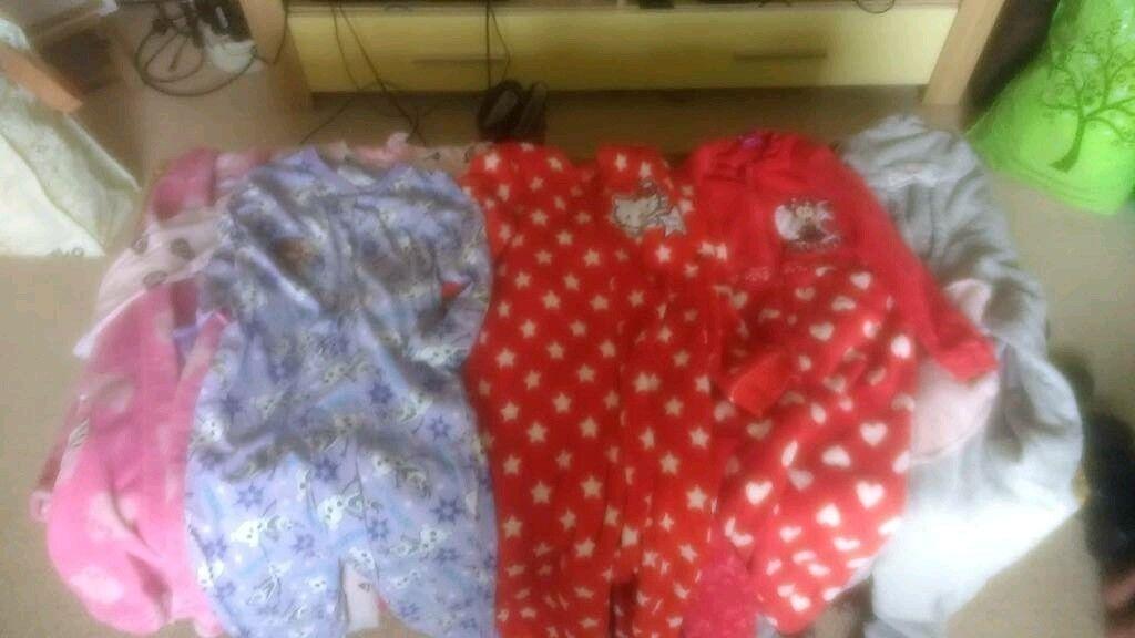 Girls Pyjamas 5-6