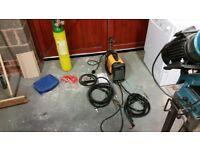 Inverter tig welder & rods, stick welder & plasma cutter, Argon bottle and reg.