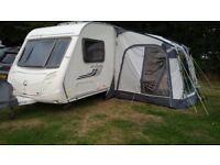 2011 Swift Archway Naseby 2 4 6 berth touring caravan with motor mover