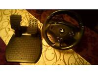 T80 Thrustmaster Wheel / Pedals ps4/ps3