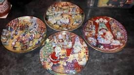 Franklin Mint Porcelain collectors plates