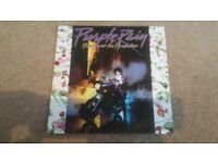 PRINCE & THE REVOLUTION ''PURPLE RAIN'' ORIGINAL PRESSING WARNER BROS 925110-1