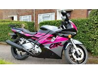 Honda cbr600f Reduced due to time wasters