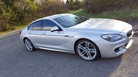 """BMW 640d Gran Coupe M Sport - 8k of options inc. 20"""" Alloys, Variable Damper Control, Sunroof & HUD"""