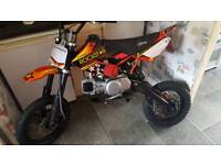 125 stomp bike in very good condition