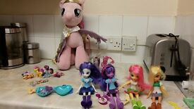 My little pony dolls and toys