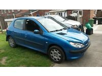 Peugeot 206 hdi 2004 breaking for spares