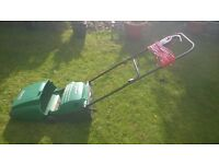 Electric lawnmower - needs adjustment as not cutting good