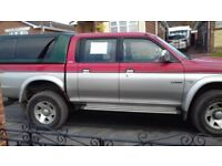 Mitsubishi l200for sale with 86000 miles