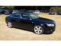 Audi A4 2007 s-line 2.0l petrol manual history full mot cheap car Kent bargain