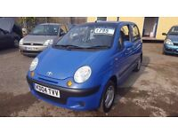 STUNNING 2004 DAEWOO MATIZ 1.0 5 DOOR FULL MOT LOW MILES PX WELCOME