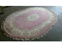 Large oval rug (delivery available)