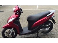 honda vision 110, red, brand new, nothing wrong with it