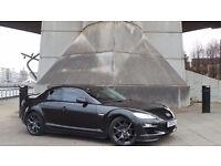 2009 09 MAZDA RX8 R3 2.6 BLACK COUPE 72K MOT 03/18(CHEAPER PART EX WELCOME)