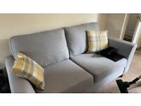 Silver Harvey's 3 seater Sofa NEED GONE ASAP