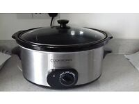 Cookworks signature slow cooker With Removable Ceramic Dish 5.5l