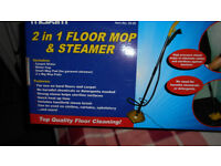 2 in 1 floor mop & steamer