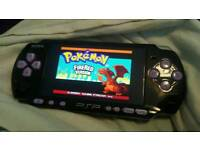 CUSTOM PSP - GBA PS1 N64 MINECRAFT NAZI ZOMBIEZ POKEMON AMAZING RARE