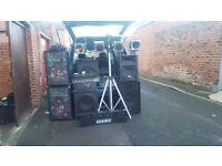 Joblot Of Disco/DJ Equipment, all working, need gone asap