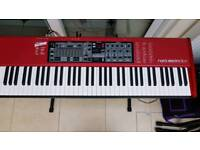 SOLD. Nord Electro 3HP 73 note Synth Keyboard with £150+ Accessories.