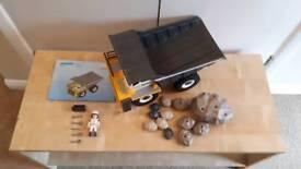 Playmobil rock truck