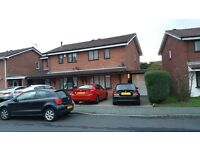 2 bedroom house to rent in bilston only 500 pounds per month semi detached with garage and drive