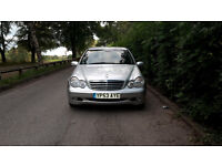 2003 Mercedes C220 CDI, One Previous Owner, Perfect Condition!!