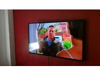 46inch samsung LCD HDMI 3D and furniture items